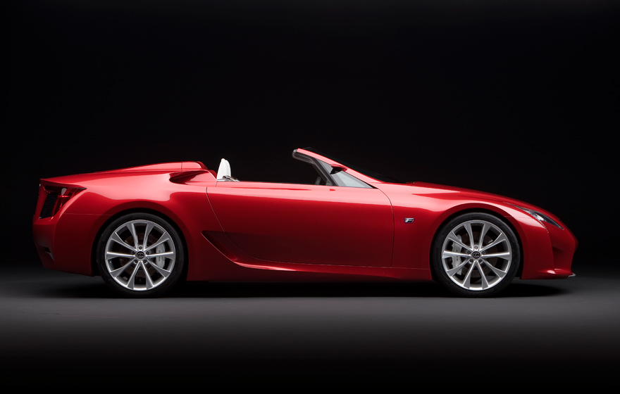 Lexus LF A Roadster - Exterior Side